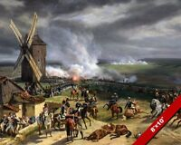FRENCH REVOLUTION BATTLE OF VALMY FINE ART WAR PAINTING REAL CANVAS GICLEE PRINT