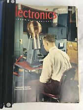 McGraw-Hill Electronics Magazines Vintage 1951-1953 In Binder