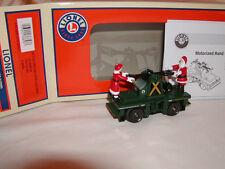 Lionel 6-38853 North Pole Express Santa & Mrs Claus Hand Car O 027 Handcar