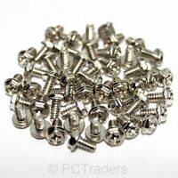 50x 6-32 6mm Coarse PC Computer Case Expansion Card PSU Screws