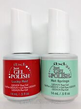 IBD Just Gel Polish-Set of any 2 bottles .5oz- Choose From Base/Top/Colors/Bond