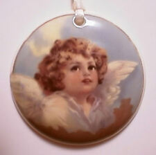 BEAUTIFULPRECIOUS ANGEL ROUND BASKET TIE ON - NEW - MORE SELECTIONS IN STORE !