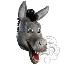 Latex Full Head Cartoon Animal Comical Donkey High Quality Fancy Carnival Masks