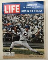 Vintage LIFE Issue Sept 26th 1969 Acc / Good Pre Owned Cond Koosman Miracle Mets