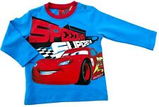 NEU!! Disney Cars Langarmshirt LongsleeveT-Shirt Shirt Baumwolle aqua 86
