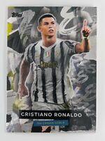 Topps Now Cristiano Ronaldo Record 768 Career Goals Card Passes Pele, Juventus