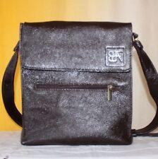 Borsello borsa uomo vera pelle fatta mano marrone cuoio man bag leather handmade