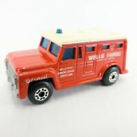 Vintage 1978 Matchbox Superfast No.69 Armored Truck England Lesney