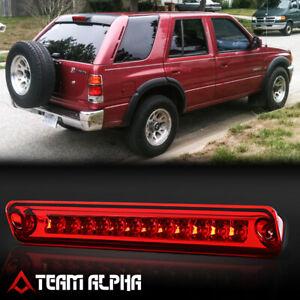 Fits 1993-1997 Passport/Rodeo [Chrome/Red] LED Third 3rd Brake Light Tail Lamp