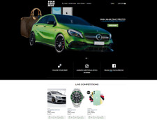 Competition Raffle Lottery eCommerce Website | £ Profitable Online Business