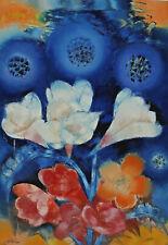 Signiert - Stillleben mit Blumen