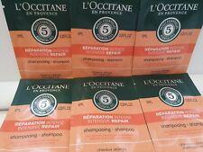 L'Occitane 60ml of Intensive Repair Shampoo 10 x 6ml Sample Sachets