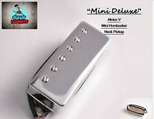 G.M. Mini Deluxe, Mini Humbucker Neck Alnico Magnet Pickup Chrome (50mm)