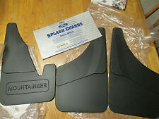 New Open Box Ford Mercury Mountaineer Mudflap Kit 6L9Z-16A550-AA MISSING RT REAR