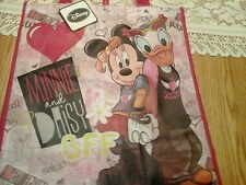 BFF MINNIE MOUSE DAISY DUCK Best Friends Shopping Girls Tote bag 2013