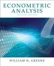 Econometric Analysis by Greene and William H. Greene (2011, Hardcover)