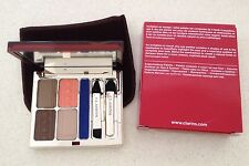 Clarins Eye Quartet & Liner Palette NEW RRP$80 -  box Colours of Brazil