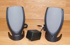 Harman Kardon (Rev A00) 2.0 System Wired Computer Speakers w/ AC Power Supply