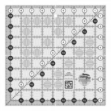 Creative Grids Quilting Ruler 9 1/2 Inch Square