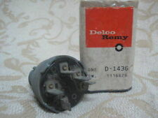 NOS GM DELCO REMY CHEVROLET 1962-64 CHEVY II NOVA IGNITION SWITCH D-1436 1116626