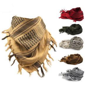 Outdoor Tactical Military Cotton Arab Scarf Turban Palestine Wrap Scarf Shawl