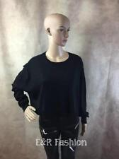 ZARA OVERSIZED CROPPED KNITTED TOP SIZE LARGE (B9) REF: 6538 009