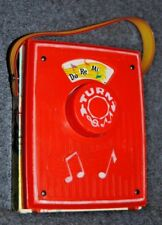 Fisher Price Pocket Radio Music Box  #759 - 1969
