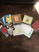 Huge Lot Of Scrapbooking Stuff! All Brand New See Pics And Description