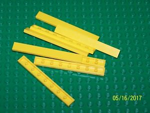 Lego 1x8 Tile Qty 8 (4162) - Pick your color