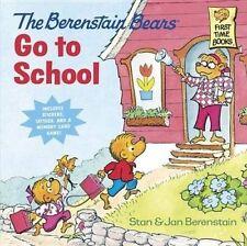 Berenstain Bears Go to School by Jan Berenstain, Stan Berenstain (Paperback,...