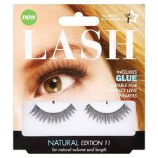 3fb5caf5f57 Superdrug LASH False Lashes natural Edition 11 Eyelashes glue set kit