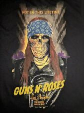 Guns N' Roses AUTHENTIC LOS ANGELES SHIRT EXTRA LARGE FORUM AXL poster staples