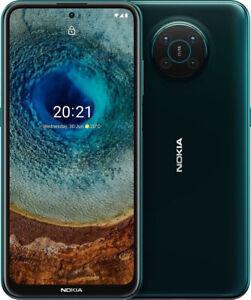 """New Nokia X10 Green 6.67"""" 64GB Dual SIM 5G Android 11 Sim Free Unlocked"""