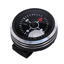 Portable Watch Band Slip Slide on Navigation Wrist Compass for Survival Camping<