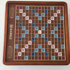 Scrabble: Luxury Edition Wood Collector Board Game  **NEW***