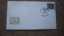 2004 AUSTRALIAN ATHENS OLYMPIC GOLD MEDAL FDC, ADELAIDE, JODIE HENRY SWIMMING