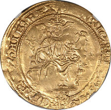 Great Britain Edward VI in the name of Henry VIII Gold Half Sovereign NGC AU R!!