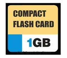 1GB Compact Flash Card