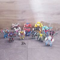 Huge Transformers Figure x 14 Bundle - Optimus Prime  / Bumblebee / Megatron Etc