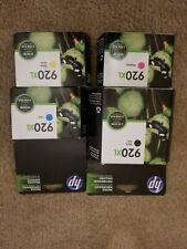 HP 920XL Black & Colors Ink Cartridge Combo CD972AN-73AN-74AN-75AN Genuine New