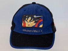 Vintage Dragon Ball Z DBZ Hat OSF Youth Strapback Anime Cap Goku Rubber Patch