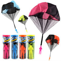 Popular Mini Parachute soldier toy Outdoor Sports Kids Educational Gift Toys ti