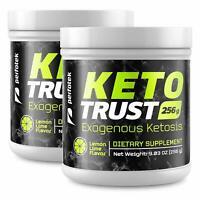 2 Pack Perfotek Keto Powder Exogenous Ketones Weight Loss Supplements Lemon Lime
