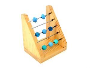 Natural Wood Charm/Bead Etc Display Rack 4 Inch
