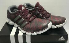 low priced b6f5a daa7d Adidas Mens Size 12 Adipure Crazy Quick Running Shoes Maroon 3 Stripe Life