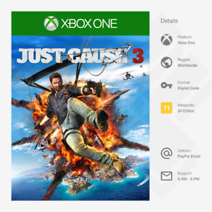 Just Cause 3 (Xbox One) - Digital Code [GLOBAL, MULTI-LANG]