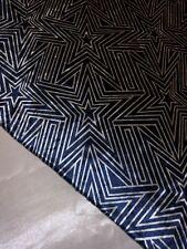 "1 Meter Printed Designer Crushed Velvet fabric Upholstery Dress 58""Wide Stretch"