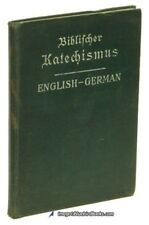 Biblischer Katechismus - German/English Catechism - Compact 1908 copy | 75634