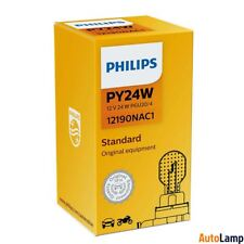 1x PY24W Vision lamp Car HALOGEN Indicator 12V 24W PGU20/4 PHILIPS 12190NAC1