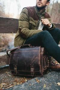 Kodiak Leather messenger Sitka Leather Messenger